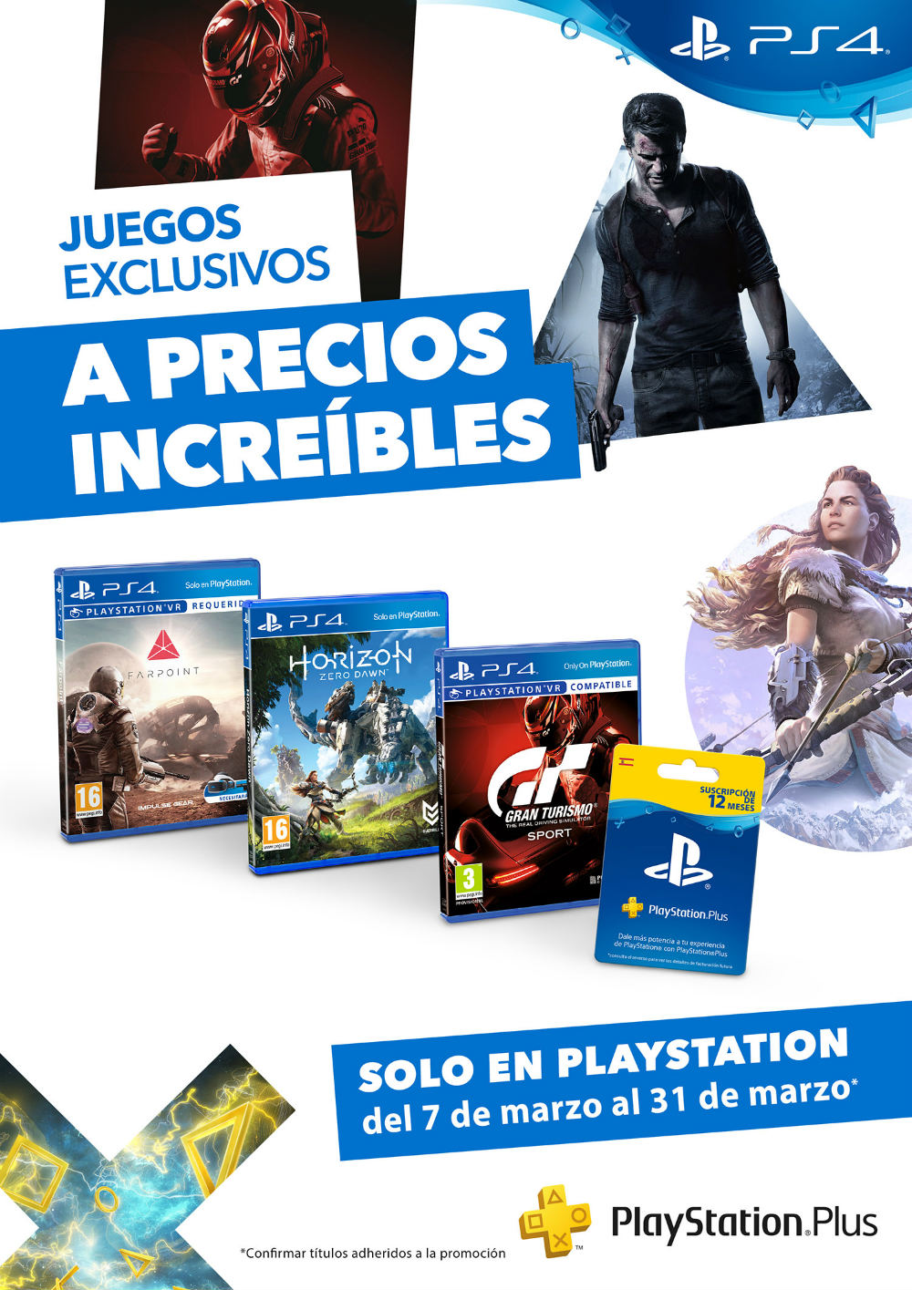 Solo en PlayStation
