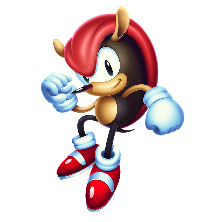 Sonic Mania Plus Mighty the Armadillo