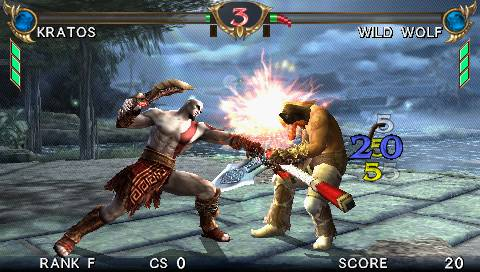 Soul Calibur PSP