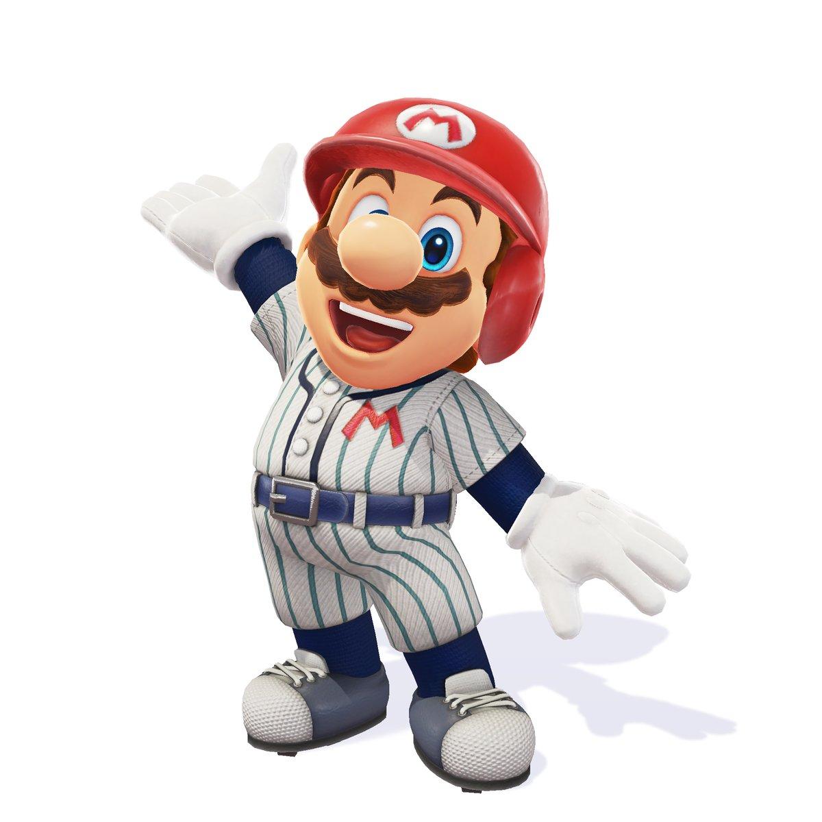 Super Mario Odyssey - Traje de béisbol