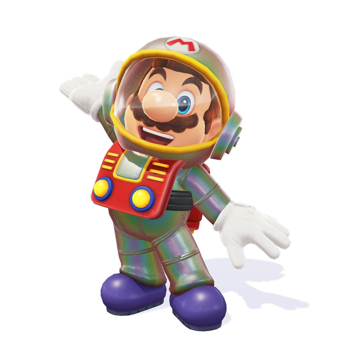 Super Mario Odyssey - Traje Satellaview