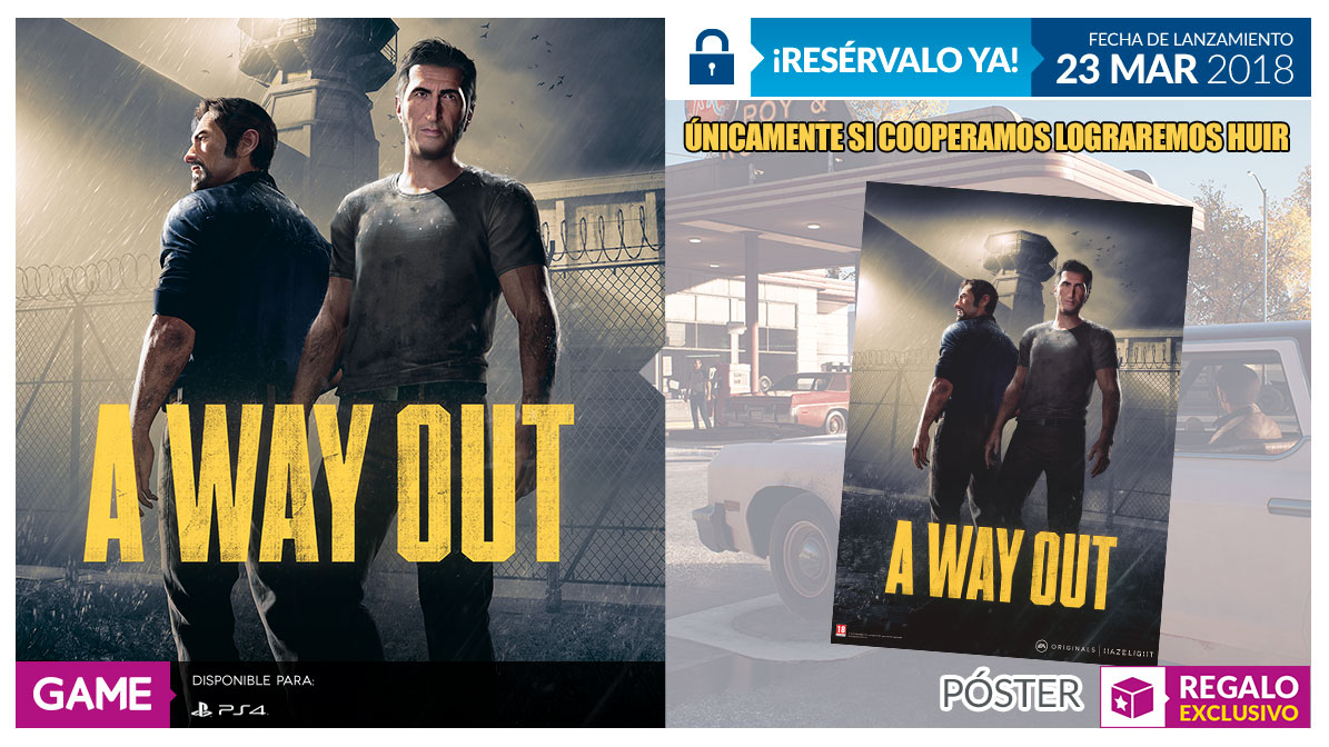 A Way Out en GAME