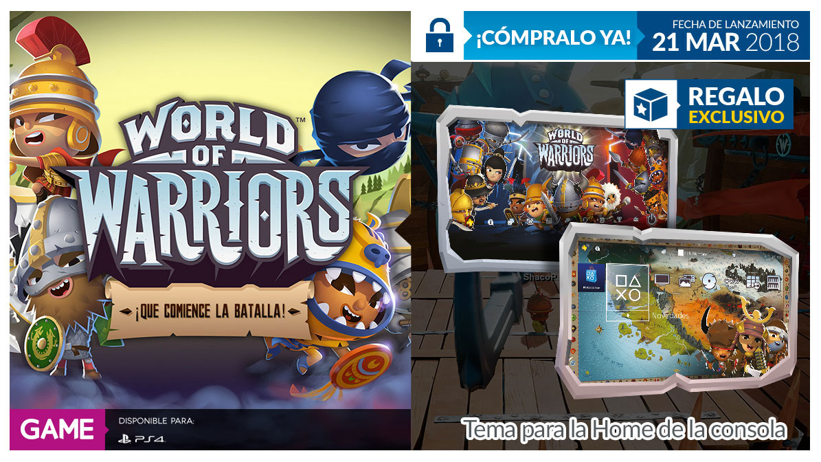 World of Warriors en GAME