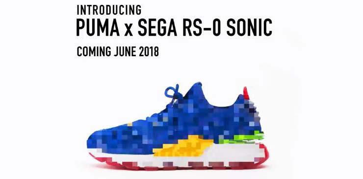 Zapatillas PUMA oficiales de Sonic