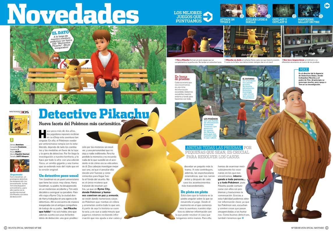 Detective Pikachu RON 308