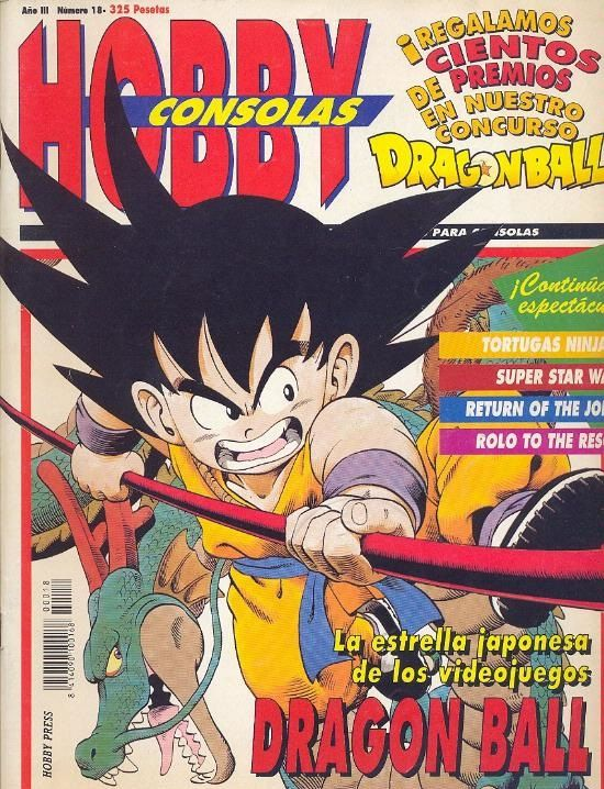 Dragon Ball Hobby Consolas