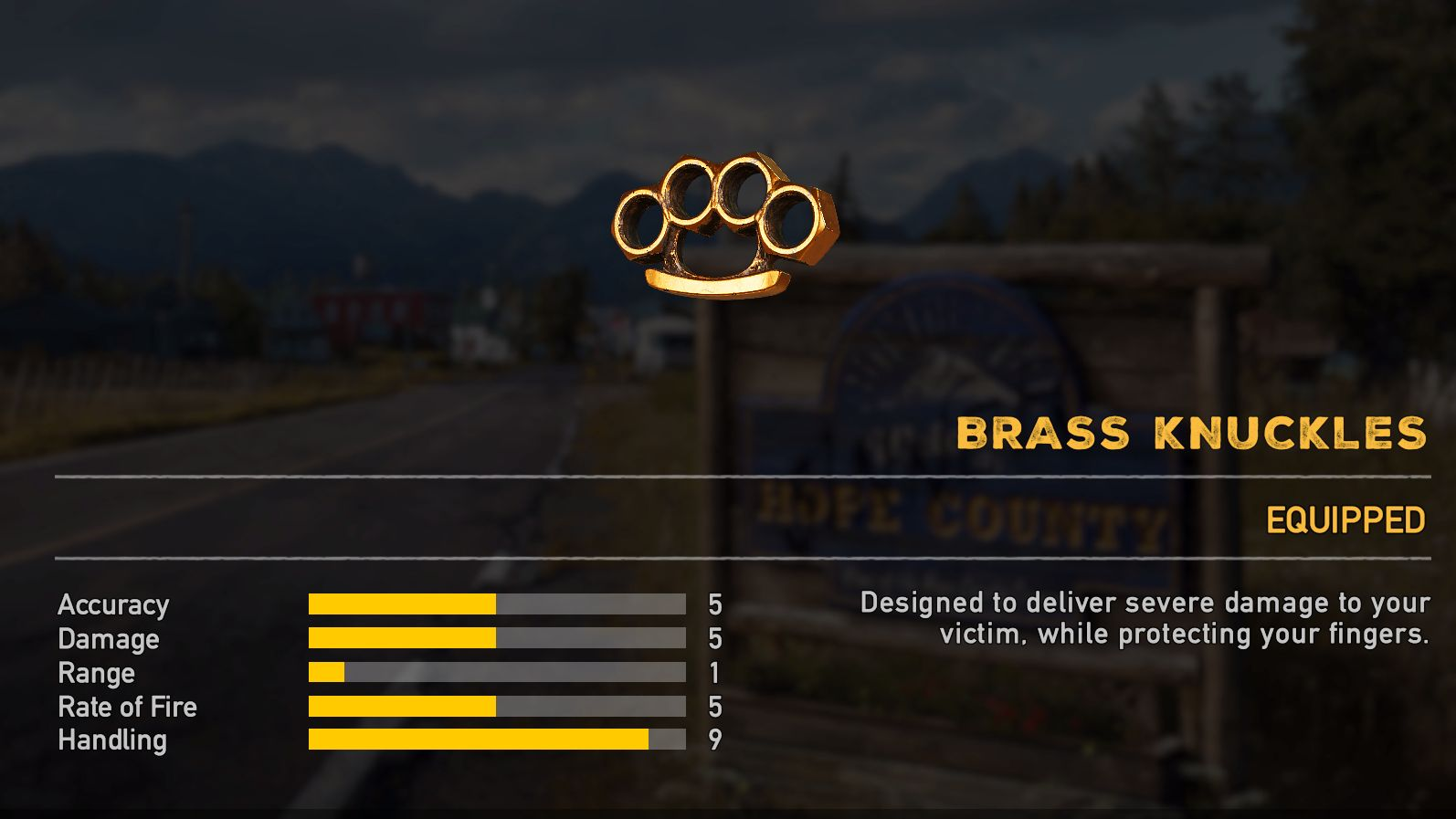 Far Cry 5 armas