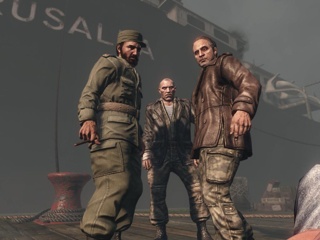 Fidel Castro Call of Duty