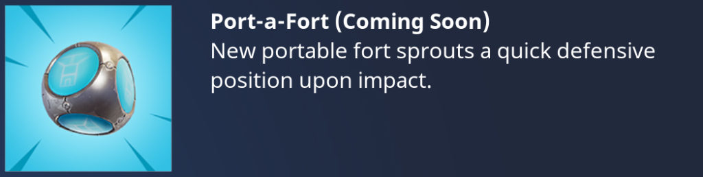 Fortnite Battle Royale Fuerte Portátil