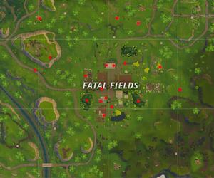 Fortnite Battle Royale mapa Latifundio Letal