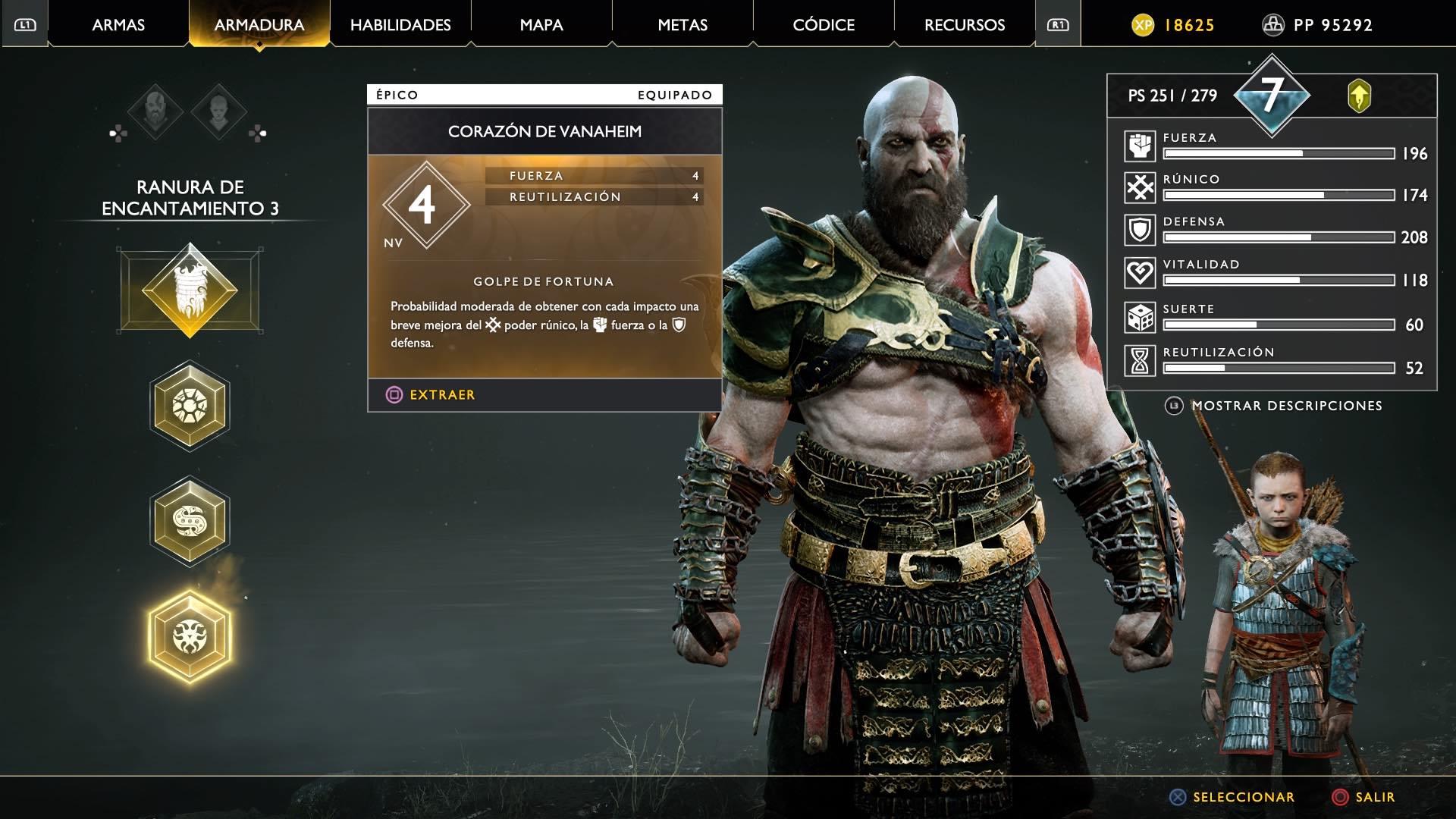 God of War corazon de vanaheim