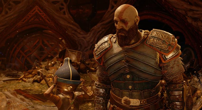 El libro de arte de God of War da pistas sobre un gran misterio