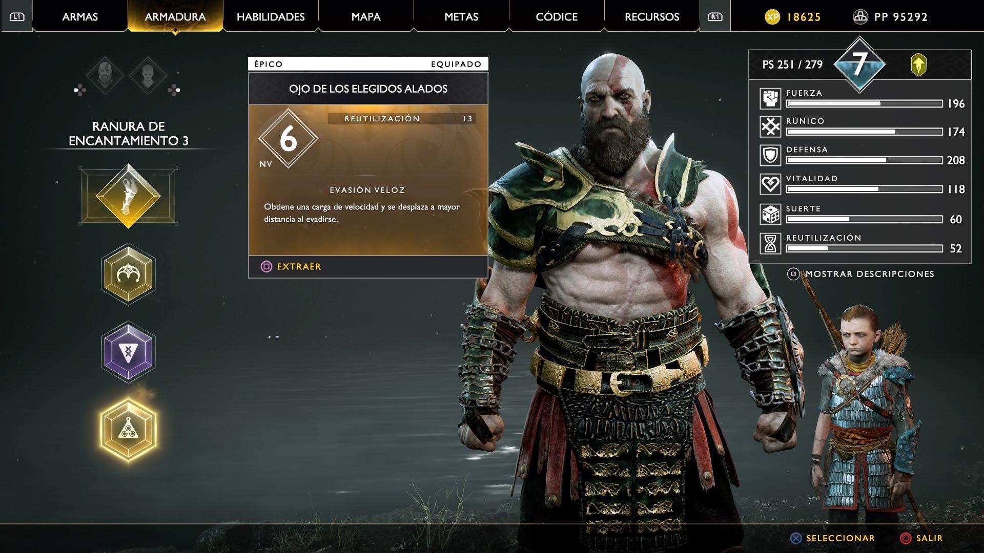 God of War Ojo de los elegidos alados