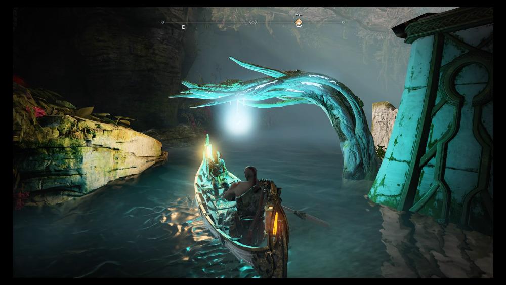 God of War PS4 - Rocío de Yggdrasil
