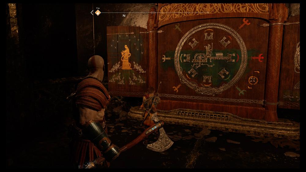 God of War PS4 - Santuario de Ymir - Camino de la Montaña