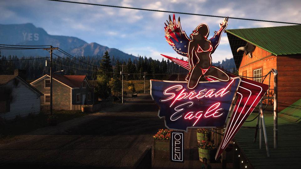El paisaje del Hope Country de Far Cry 5 es muy colorido.