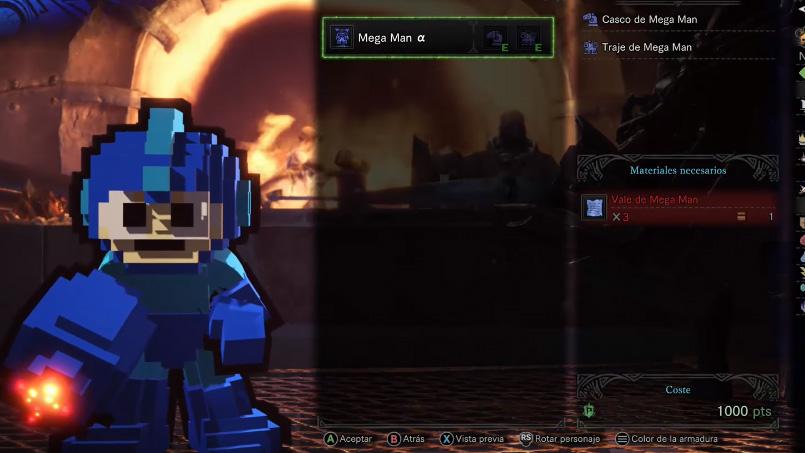 Monster Hunter World Megaman
