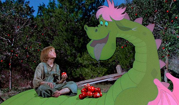Pedro y el dragón Elliot