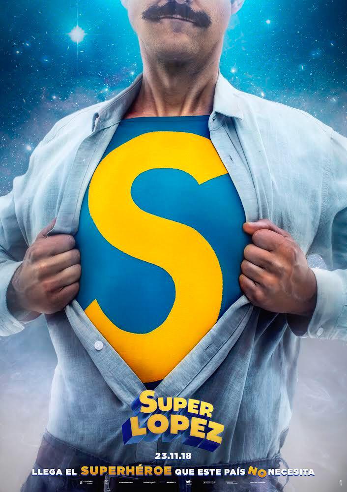 Nuevo póster Superlópez