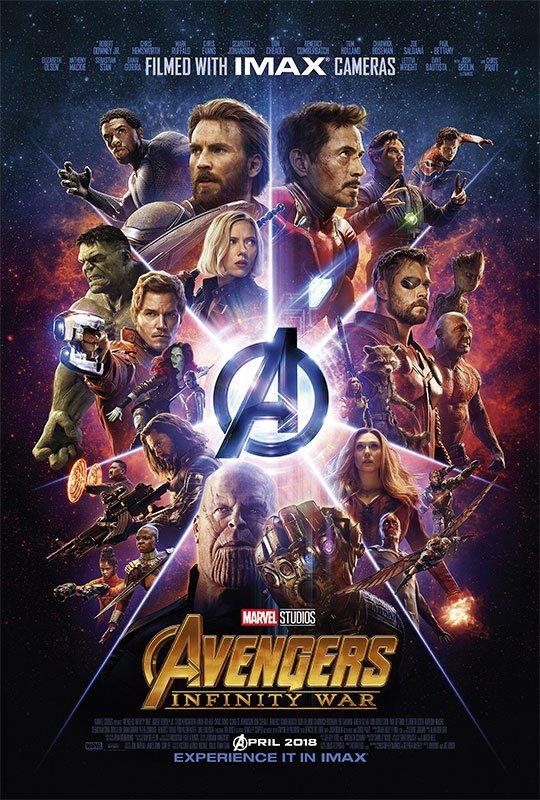 Póster Vengadores: Infinity War