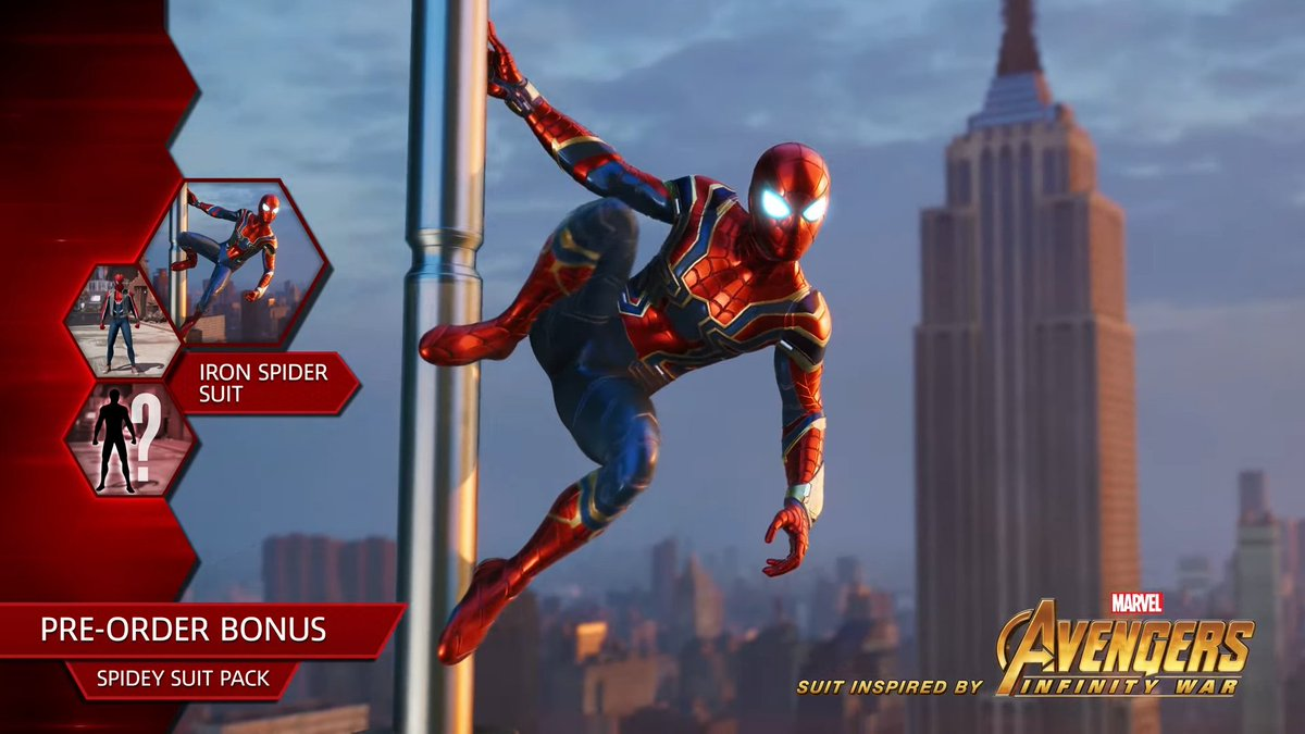 Spider-Man PS4 - Iron Spider