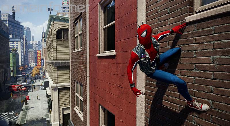 Spider-Man PS4 - Punk Spider