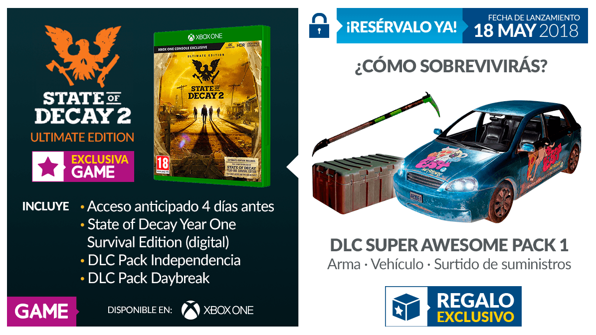 State of Decay 2 Ultimate Edition en GAME