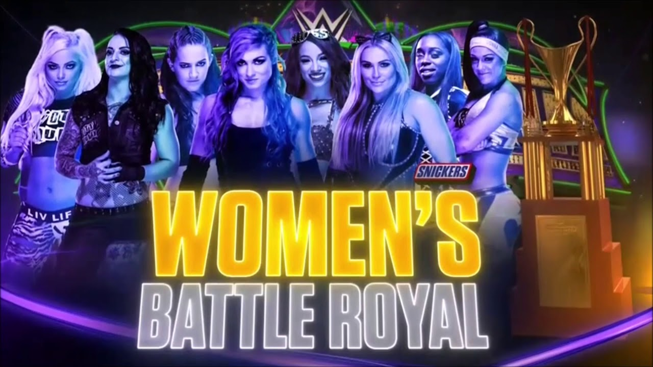 WWE WrestleMania 34 - Batalla Real Femenina
