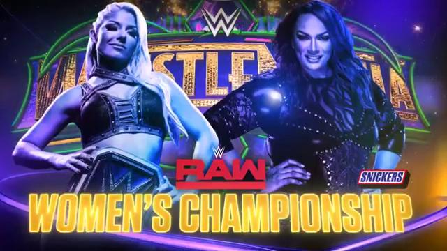 WWE WrestleMania 34 - Campeonato Femenino de Raw - Alexa Bliss vs. Nia Jax