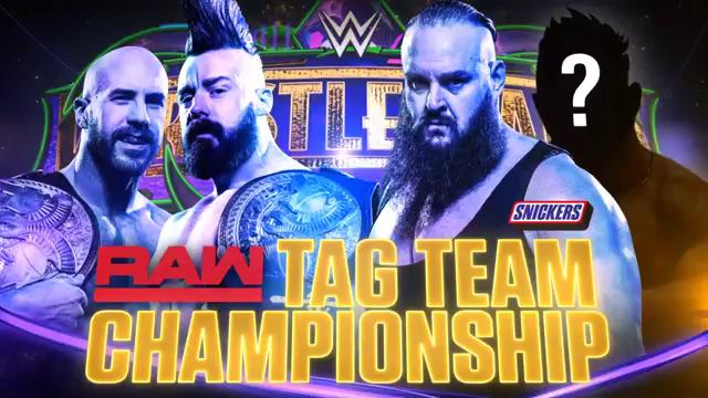 WWE WrestleMania 34 - Camponato por Equipos de Raw - The Bar vs. Braun Strowman