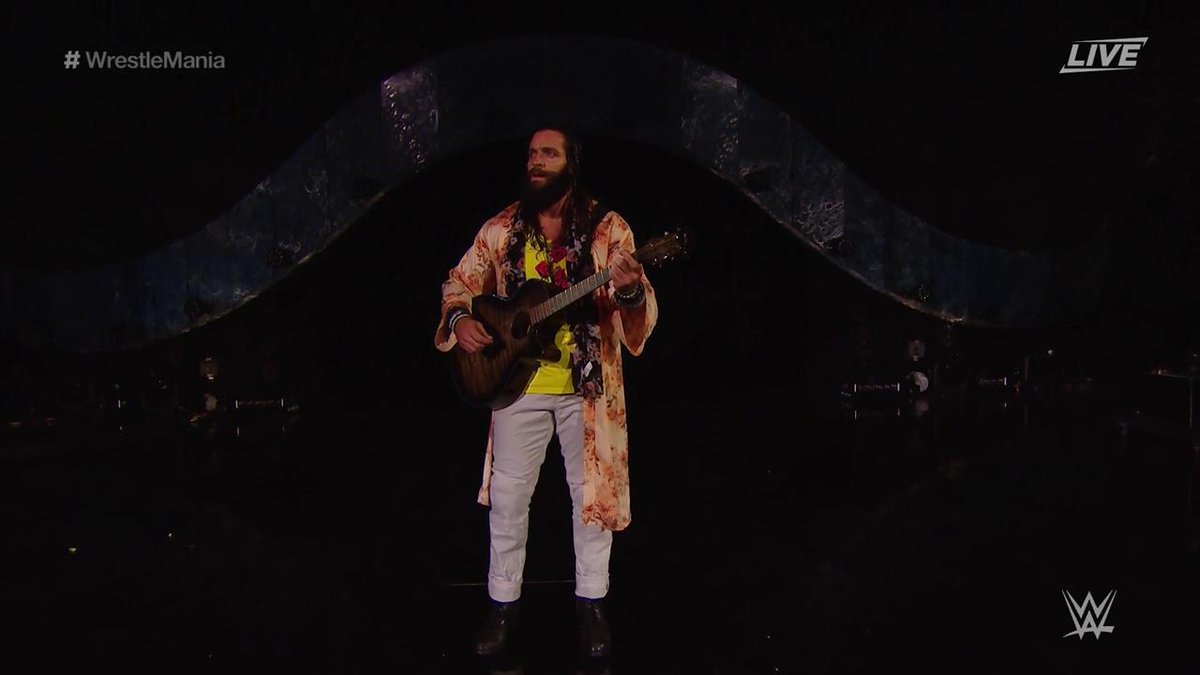 WWE WrestleMania 34 - Elias