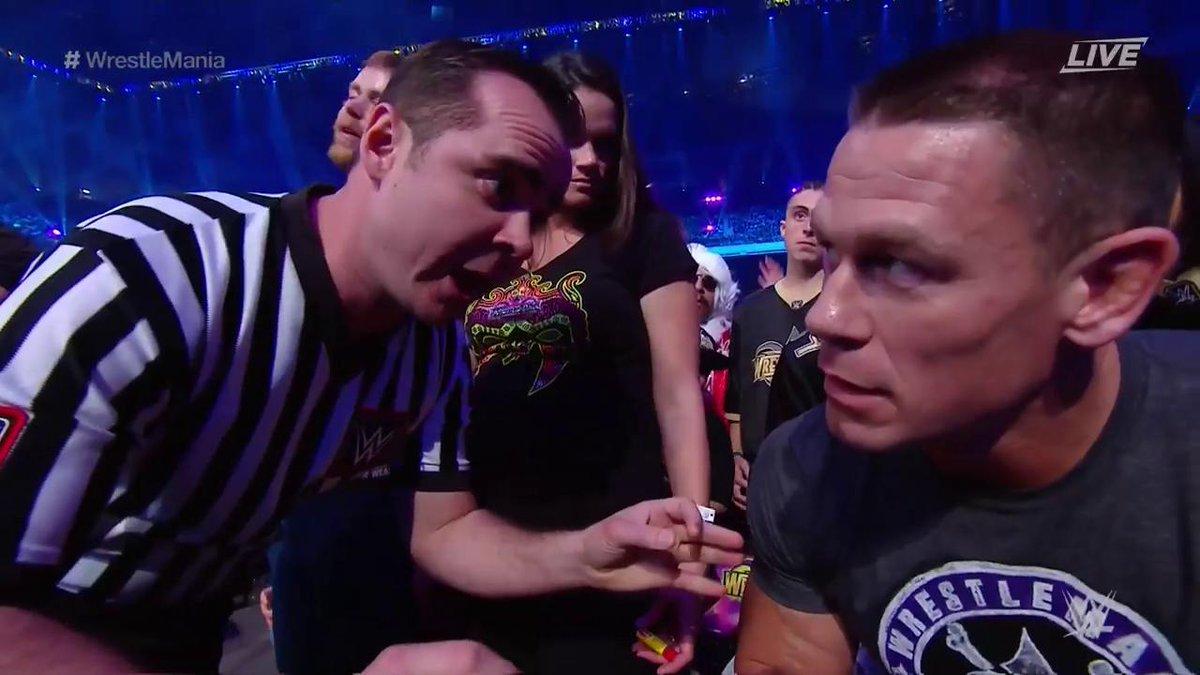 WWE WrestleMania 34 - John Cena