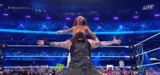 WWE - WrestleMania 34 - Matt Hardy y Bray Wyatt