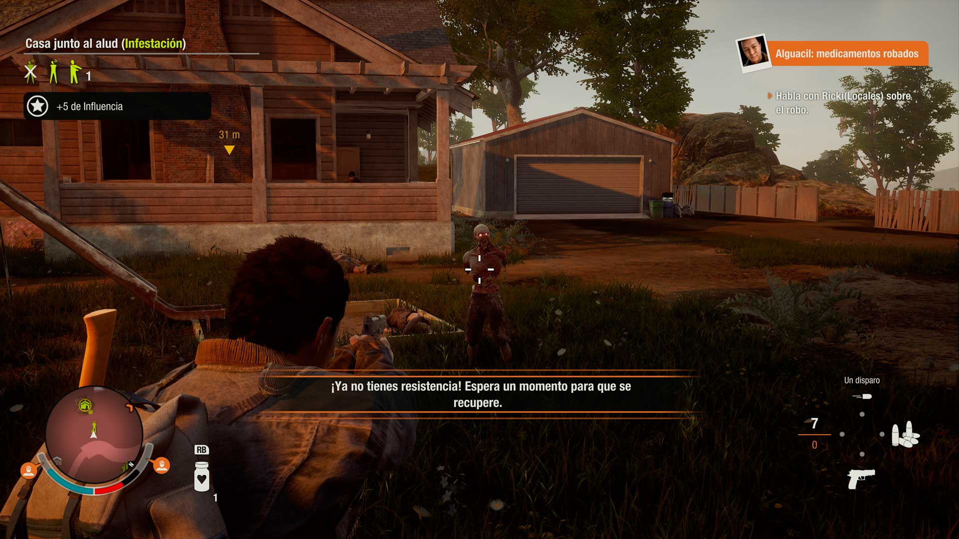 Análisis State of Decay 2 - aulladores