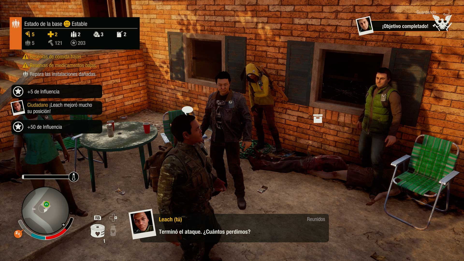 Análisis State of Decay 2 - moral