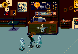 Coffee Crisis en Mega Drive