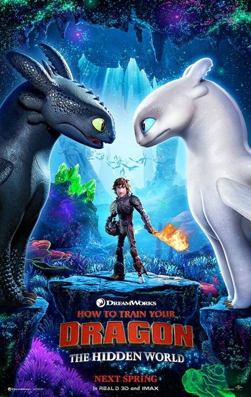 Cómo entrenar a tu dragón 3 poster