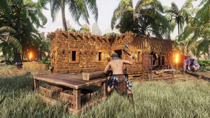 Conan exiles pantalla 3