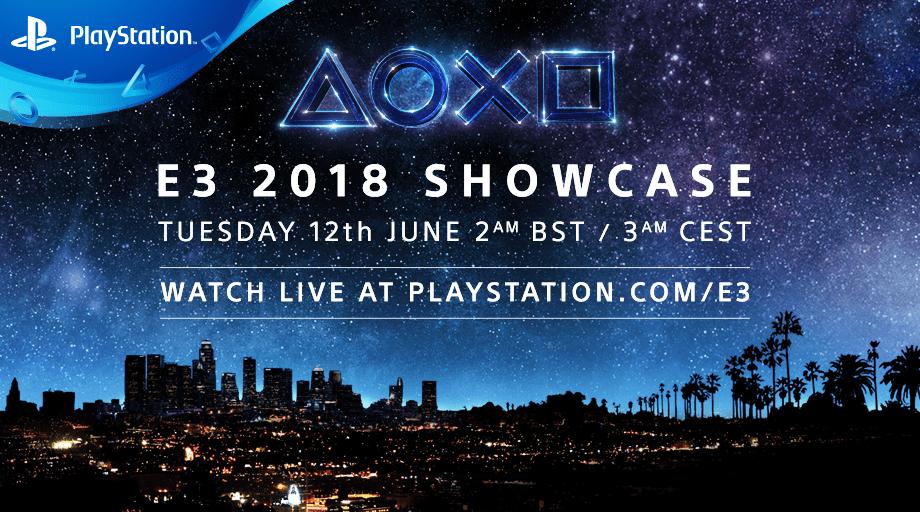 Conferencia de Sony E3 2018