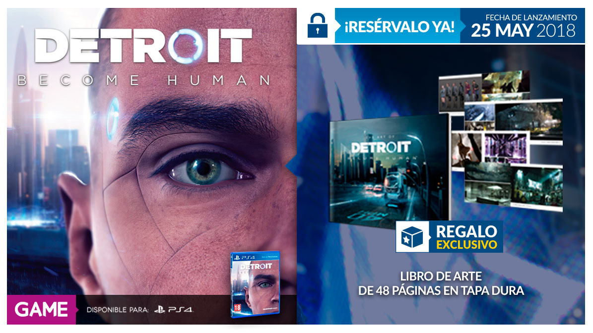 Detroit Become Human en GAME