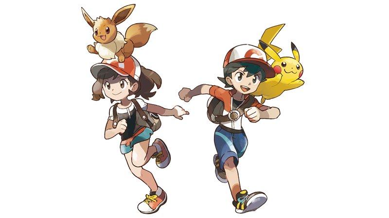Pokémon: Let's Go, Pikachu! Pokémon: Let's Go, Eevee! Switch entrenadores