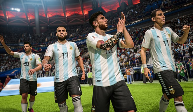 FIFA 18 World Cup - Argentina