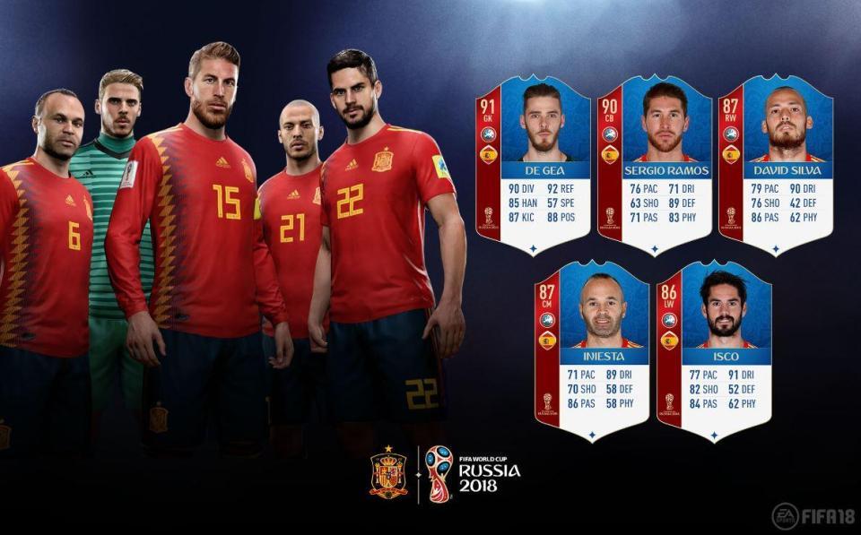 FIFA 18 World Cup - España