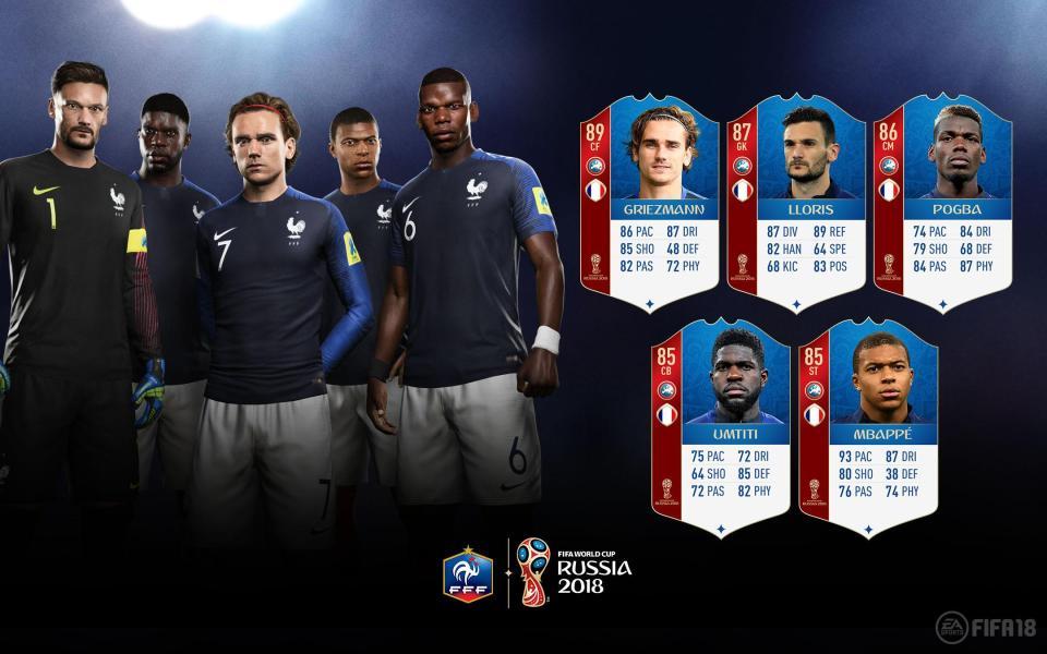 FIFA 18 World Cup - Francia