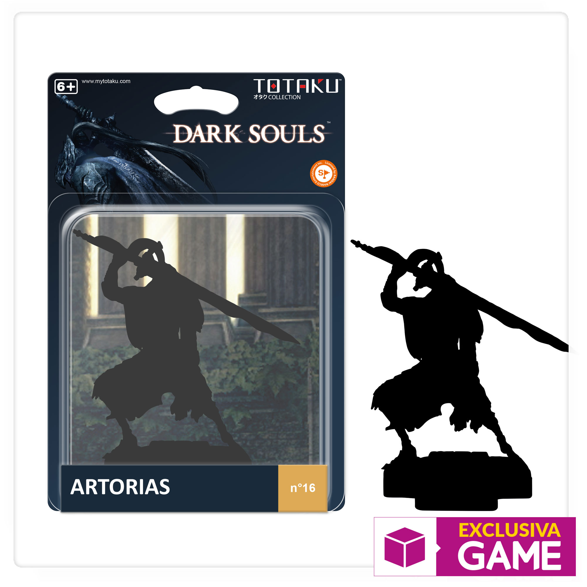 Figura Totaku Collection Dark Souls - Artorias