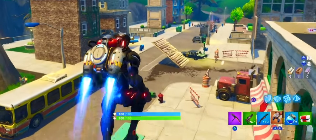Fortnite Battle Royale - Jetpack