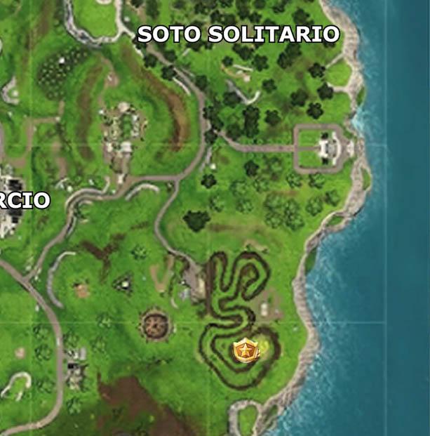 Fortnite Temporada 4 Semana 3 desafío mapa señorio de la sal 1