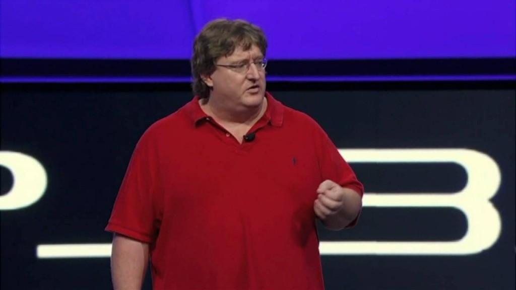 Gabe Newell E3
