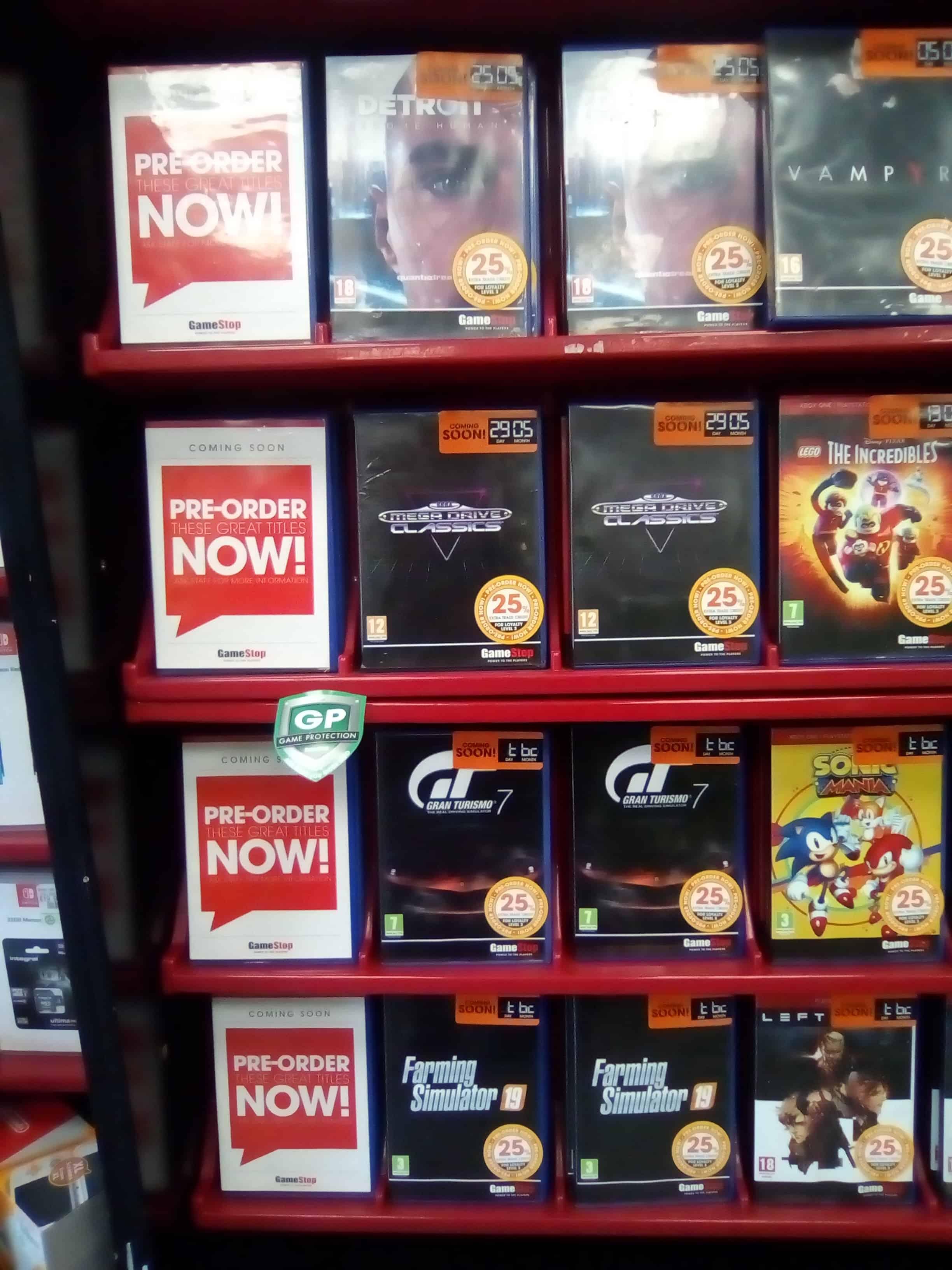 Gran Turismo 7 filtrado gamestop