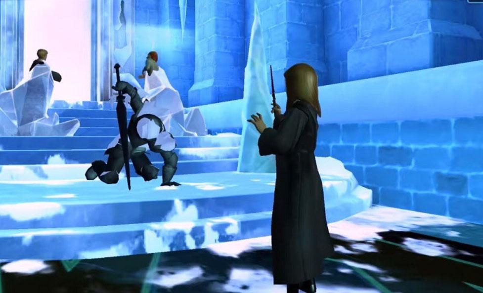 Hogwarts Mystery Caballero hielo